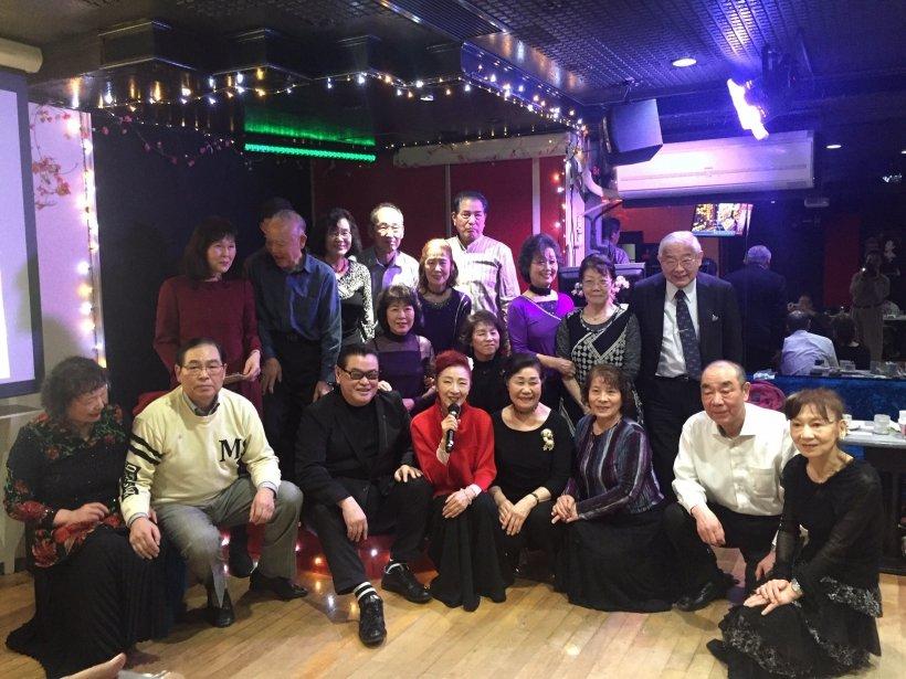 北海道の皆さんと一緒に 安倍里葎子の左隣はSASAKI社長|2020年2月7日